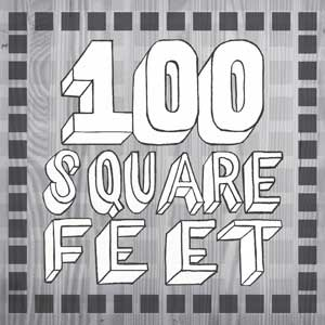 100 Square Feet Logo