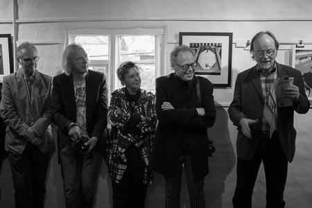 Steve, Peter, Eileen, Bill and Eamon